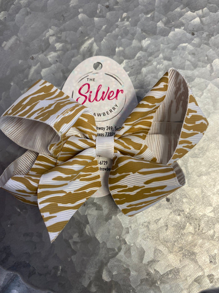 Beaded Key-Ring- Yellow