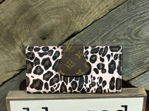 Revamped Pink Cheetah Wallet
