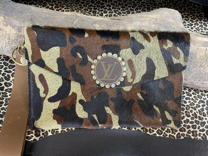 Revamped Large Camo Wallet Wristlet