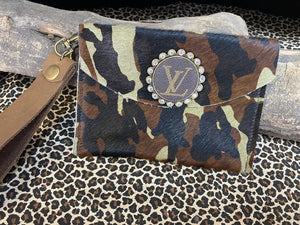 Revamped Small Camo Wallet Wristlet