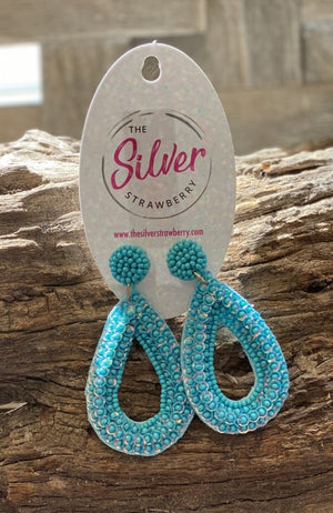 Classic Earrings- Turquoise