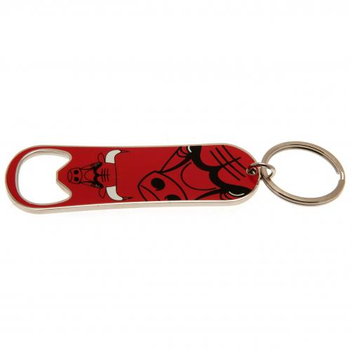 Chicago Bulls Bottle Opener Keychain - footballextreme.shop