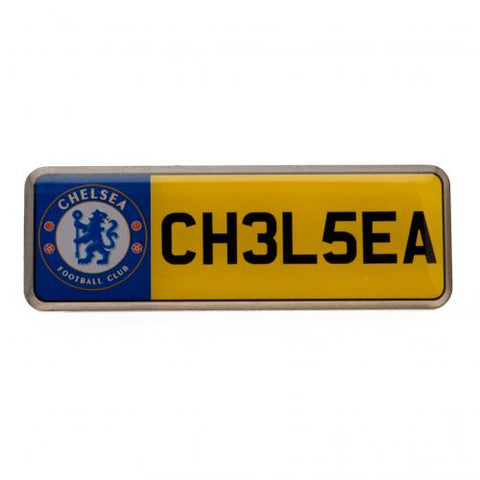 Chelsea FC Number Plate Badge - footballextreme.shop