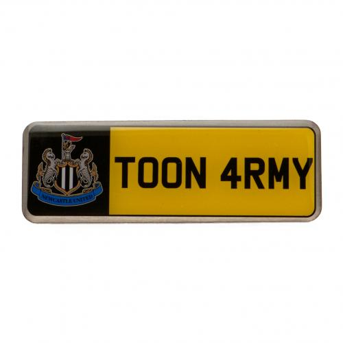 Newcastle United FC Number Plate Badge - footballextreme.shop
