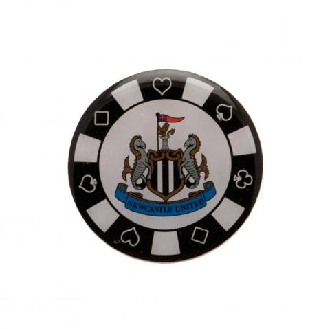 Newcastle United FC Poker Chip Badge - footballextreme.shop