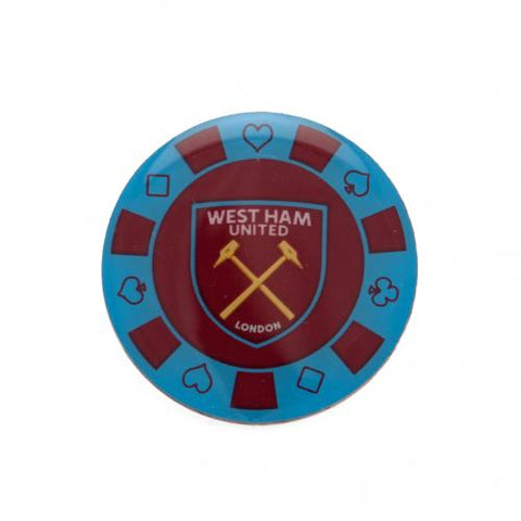 West Ham United FC Poker Chip Badge - footballextreme.shop