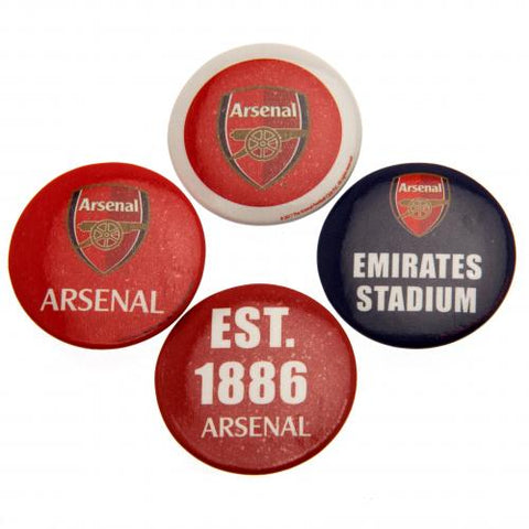 Arsenal FC Button Badge Set - footballextreme.shop