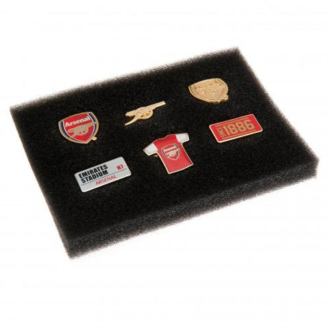 Arsenal FC 6 Piece Badge Set - footballextreme.shop