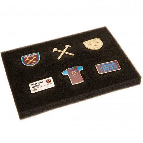 West Ham United FC 6 Piece Badge Set - footballextreme.shop
