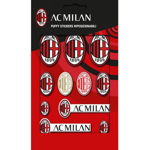 AC Milan Bubble Sticker Set - footballextreme.shop