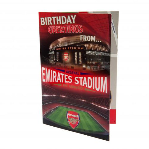 Arsenal FC Pop-Up Birthday Card - footballextreme.shop