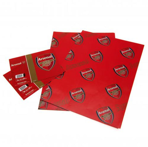 Arsenal FC Gift Wrap - footballextreme.shop