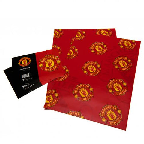 Manchester United FC Gift Wrap - footballextreme.shop