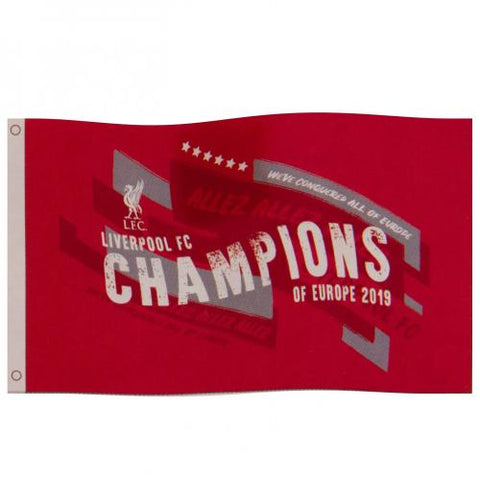 Liverpool FC Champions Of Europe Flag - footballextreme.shop