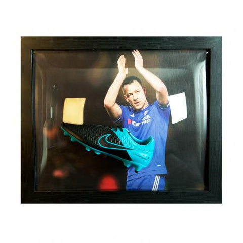 Chelsea FC Terry Signed Boot (Framed) - footballextreme.shop