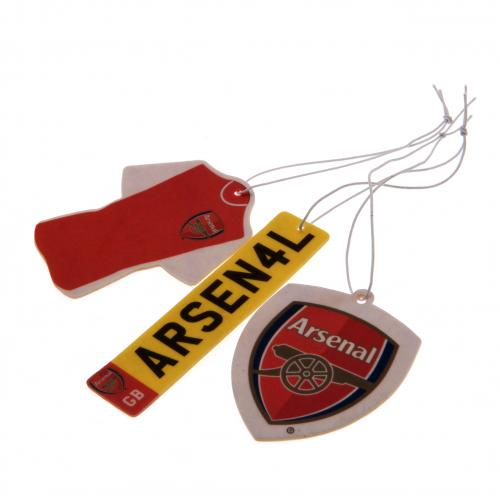 Arsenal FC 3pk Air Freshener - footballextreme.shop