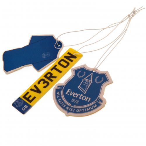 Everton FC 3pk Air Freshener - footballextreme.shop