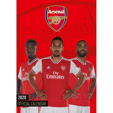 Arsenal FC Calendar 2020 - footballextreme.shop