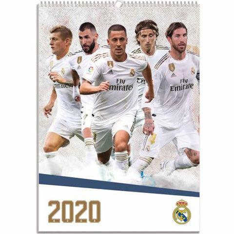 Real Madrid FC Calendar 2020 - footballextreme.shop
