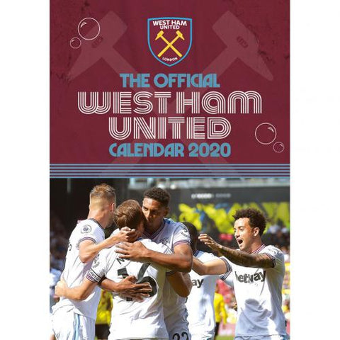 West Ham United FC Calendar 2020 - footballextreme.shop