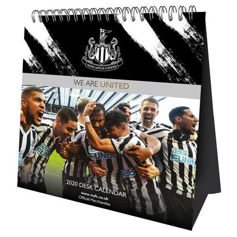 Newcastle United FC Desktop Calendar 2020 - footballextreme.shop