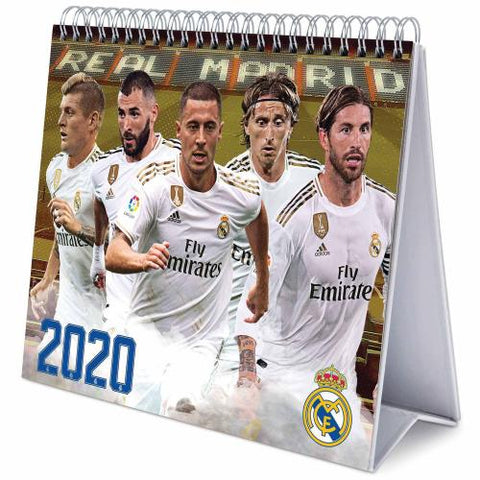 Real Madrid FC Desktop Calendar 2020 - footballextreme.shop