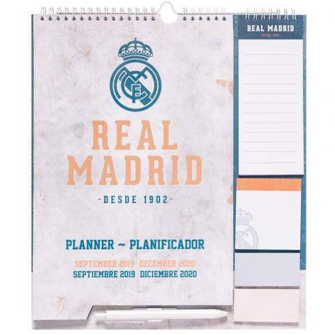 Real Madrid FC Year Planner 2020 - footballextreme.shop
