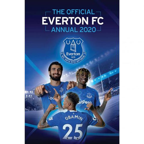 Everton FC Annual 2020 - footballextreme.shop