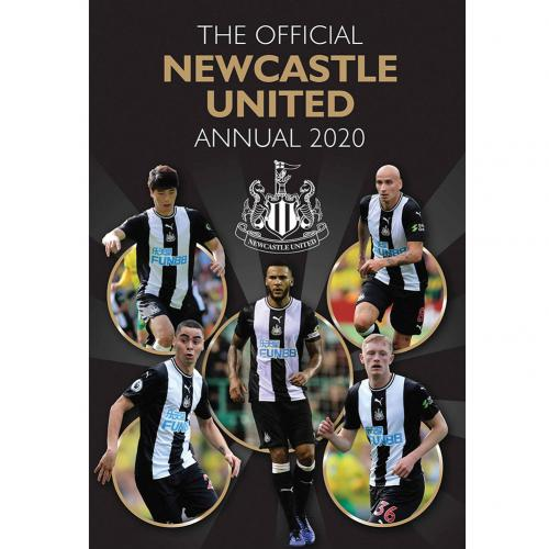 Newcastle United FC Annual 2020 - footballextreme.shop