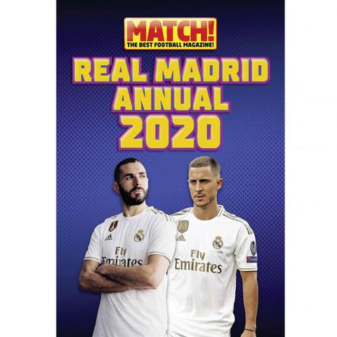 Real Madrid FC Annual 2020 - footballextreme.shop