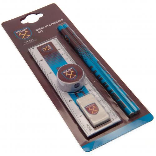 West Ham United FC Core Stationery Set FD - footballextreme.shop