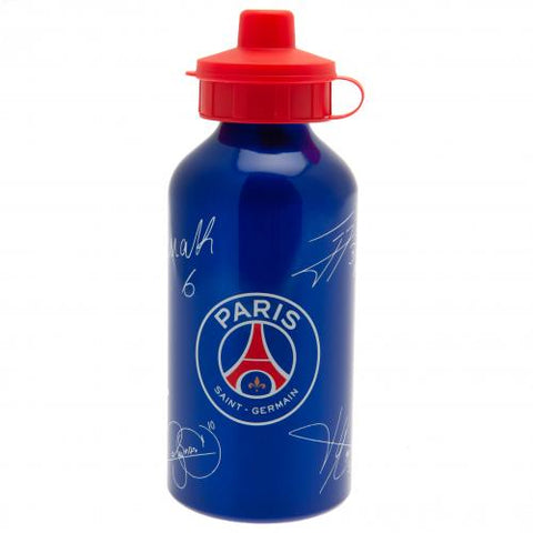 Paris Saint Germain FC Aluminium Drinks Bottle SG - footballextreme.shop