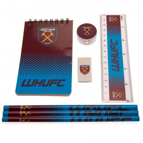 West Ham United FC Starter Stationery Set - footballextreme.shop