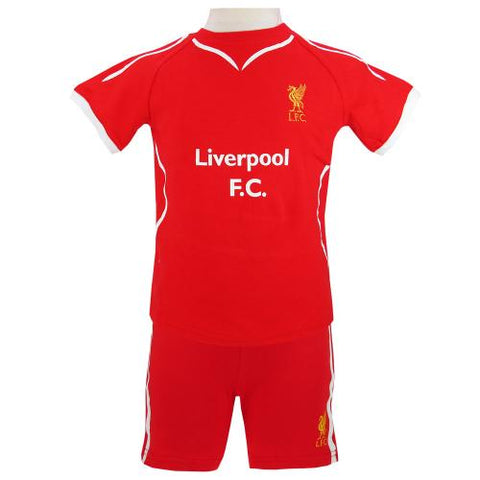 Liverpool FC Shirt & Short Set 6/9 mths SW - footballextreme.shop