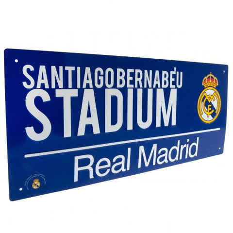 Real Madrid FC Street Sign BL - footballextreme.shop