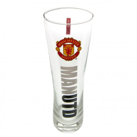 Manchester United FC Tall Beer Glass - footballextreme.shop