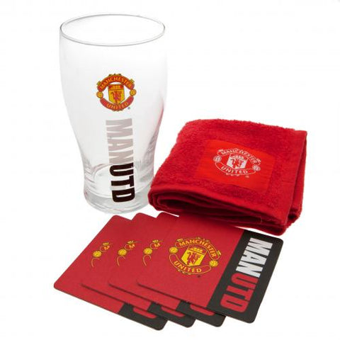 Manchester United FC Mini Bar Set - footballextreme.shop