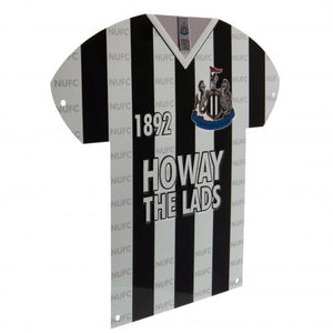 Newcastle United FC Metal Shirt Sign - footballextreme.shop