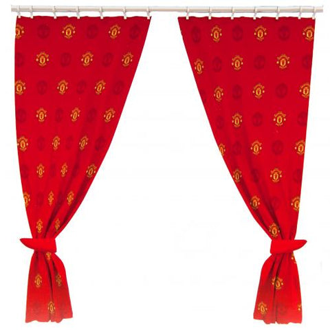 Manchester United FC Curtains - footballextreme.shop