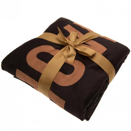 Newcastle United FC Sherpa Fleece Blanket EST - footballextreme.shop