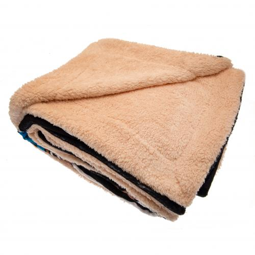 Newcastle United FC Sherpa Fleece Blanket - footballextreme.shop