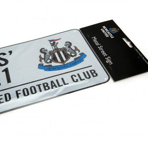 Newcastle United FC Street Sign - footballextreme.shop
