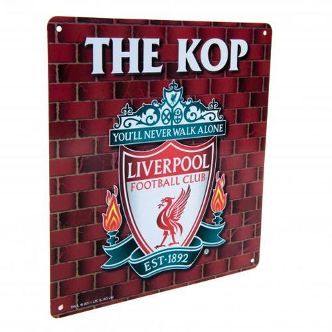Liverpool FC The Kop Sign - footballextreme.shop