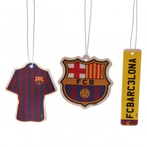 FC Barcelona 3pk Air Freshener - footballextreme.shop