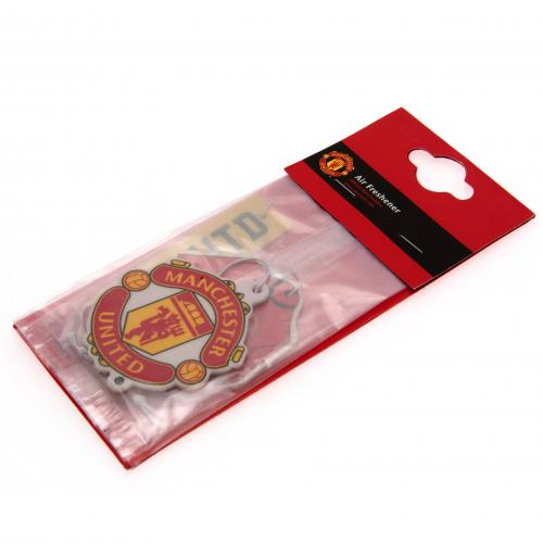 Manchester United FC 3pk Air Freshener - footballextreme.shop