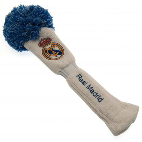 Real Madrid FC Headcover Pompom (Driver) - footballextreme.shop