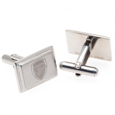 Arsenal FC Stainless Steel Cufflinks - footballextreme.shop