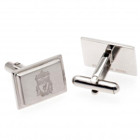 Liverpool FC Stainless Steel Cufflinks - footballextreme.shop