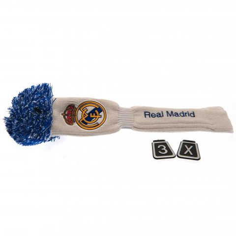 Real Madrid FC Headcover Pompom (Fairway) - footballextreme.shop