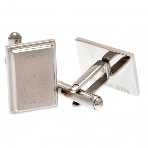 Nottingham Forest FC Stainless Steel Cufflinks - footballextreme.shop
